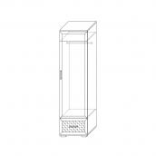 Шкаф для одежды (2) гостиная «Парма Люкс» Венге