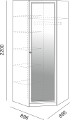 Угловой шкаф м.01 «Беатрис»