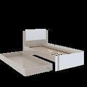 Кровать с дополнительным спальным местом м.14 «Walker» (настил ЛДСП)