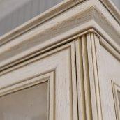 Шкаф 4-х дверный (2 стеклодвери) «Венето»