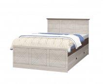 Кровать 1200 с настилом без ящика ИД 01.502 «Калипсо»