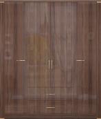 Шкаф для одежды с ящиками 4-х дверный (без зеркал) 02 «Париж»