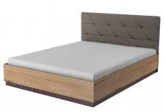 Кровать двуспальная 1600 с орт.основанием ИД 01.533 «Бруно»