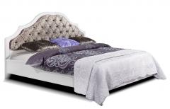 Кровать двуспальная КМК 0647 «Кристал»