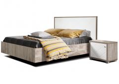 Кровать двуспальная 1600 КМК 0650.3 «Кристал»