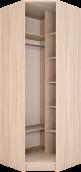 Шкаф угловой с зеркалом 30 «Брайтон»