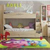 Кровать двухъярусная 90 «ADELE»