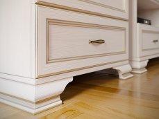 Шкаф низкий (1 стеклодверь) (3) «Сиена»