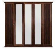 Шкаф 5-ти створчатый с зеркалом «Афина» Караваджо