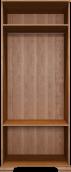 Шкаф для одежды 2-х дверный (26) «Венеция» Клён торонто