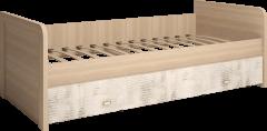 Кровать одинарная с ящиком на 900 с ящиком (12) «Ультра»