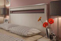 Кровать двуспальная с металл основанием «Бриз»