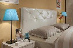 Кровать Люкс двуспальная с металл основанием «Бриз»