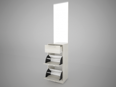 Тумба для обуви с зеркалом м.6 «Камея EVO»