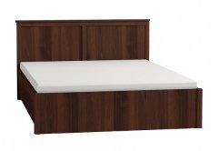 «Sherlock» Двуспальная кровать с подъемным механизмом орех шоколадный