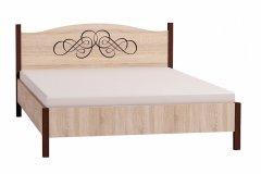 «ADELE» Кровать двуспальная + металл основание