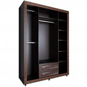 Шкаф 4-х створчатый 1600 №24 «Калипсо» Венге