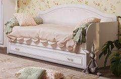 Кровать односпальная + ящик (12+10) «Мelania»