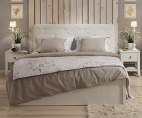 Двуспальная кровать с подъемным механизмом 1400 «Марсель» Люкс (выставочный образец)