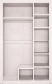 Шкаф 3-х дв с зеркалом 06 «Мальта» (выставочный образец)