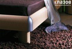 «Секрет» Кровать двуспальная с подсветкой
