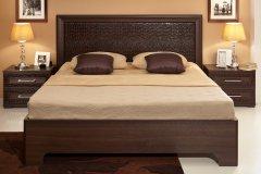 Двуспальная кровать с подъемным механизмом спальня «Тоскана»