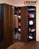 Гостиная «Sherlock 10» Шкаф угловой фасад Зеркало