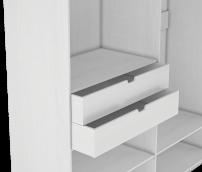 «Капри» комплект выдвижных ящиков к шкафу 4-х дверному (2 шт.)
