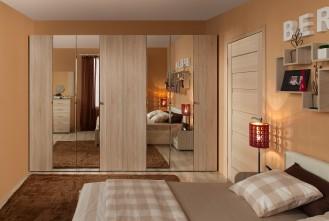 Модульная мебель для спальни «BERLIN» дуб сонома