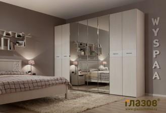 Модульная мебель для спальни «WYSPAA»