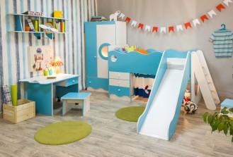 Модульная мебель для детской «Морячок»