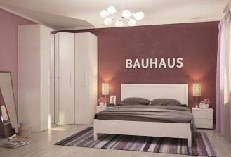Модульная мебель для спальни «BAUHAUS» бодега светлый