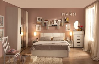 Модульная мебель для спальни «Майя»