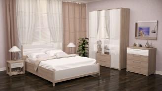 Спальный гарнитур «Вива» глянец