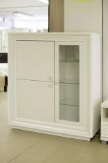 Шкаф 3-х дверный 1179 низкий «Прато» (выставочный образец)