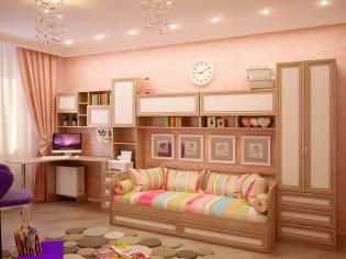 Модульная подростковая мебель «OSTIN»