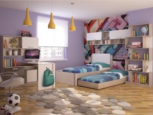 Модульная подростковая мебель «Walker»