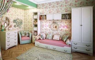 Модульная детская мебель «Классика»
