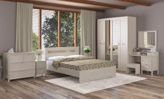 Модульная спальня «Соната» Дуб млечный