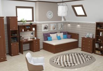 Модульная подростковая мебель «Бостон»