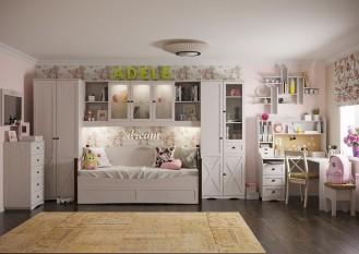 Модульная детская мебель «ADELE» Ясень анкор светлый