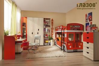 Модульная детская мебель «Автобус»