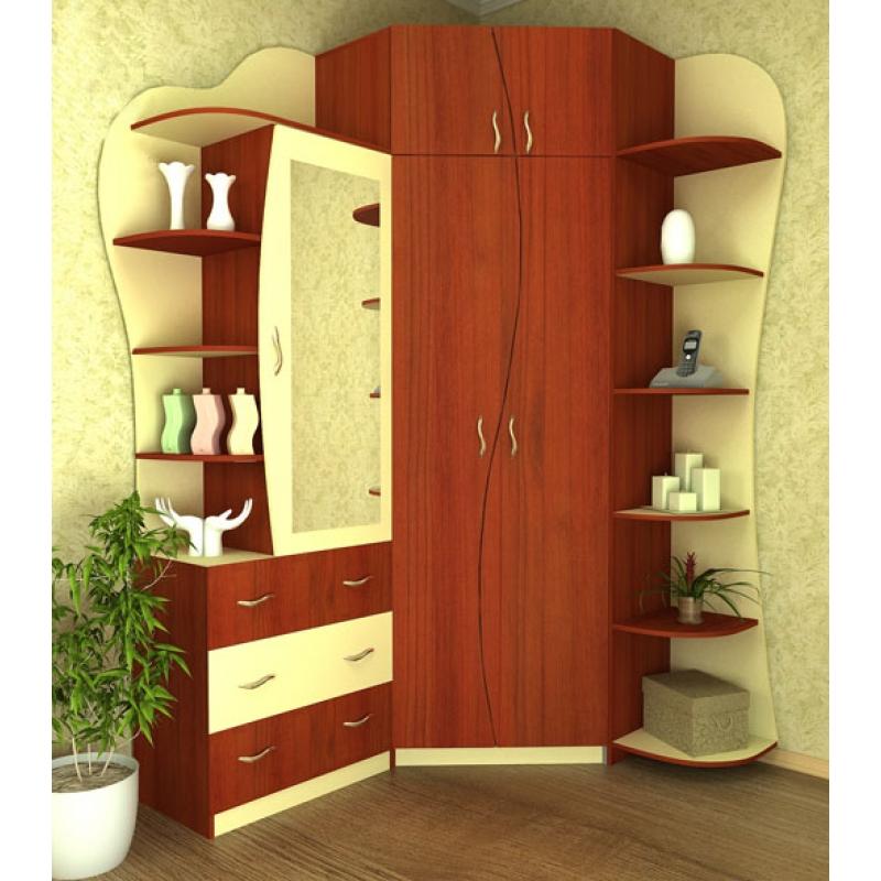 Угловой шкаф-купе в прихожую: фото, для маленьких коридоров,.