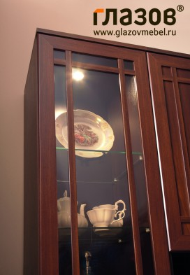 Модульная стенка гостиная «Sherlock» орех шоколадный