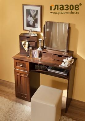 «Sherlock» 53 Стол туалетный без зеркала орех шоколадный