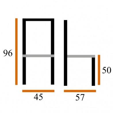 Обеденная группа Стол Сиэтл-ДГ + 4 Стула Дана-2