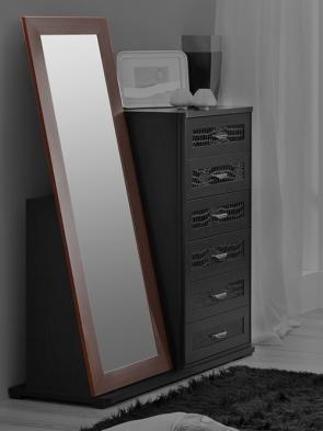 Зеркало к комоду высокому спальня «Парма»
