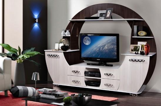 «Луна» тумба под телевизор КМК 0391