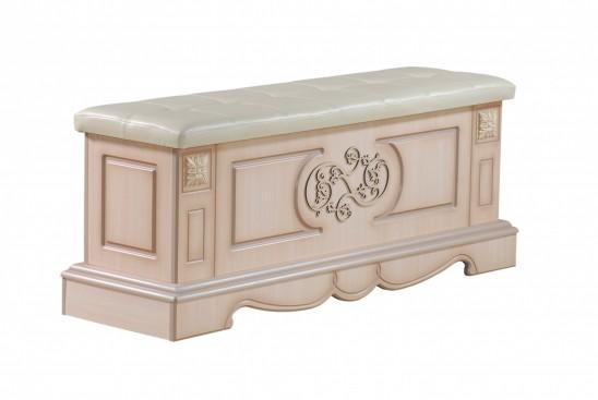 Пуф с ящиком для хранения «Амелия» КМК 0435.21