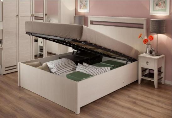 «Бриз» Двуспальная кровать с подъемным механизмом